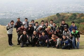 奈良ツーリング集合写真