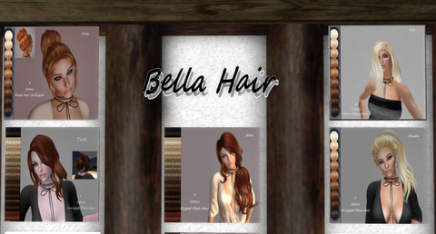 [Bella's Winter Clothing & Hair Salon] Snowland