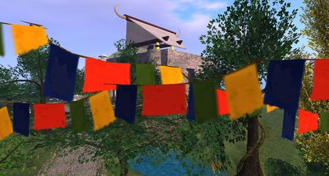 [Prayer Flags] Ananda Shrine - Atoll