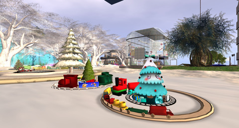 [Christmas train] Robin Road Side - Atoll