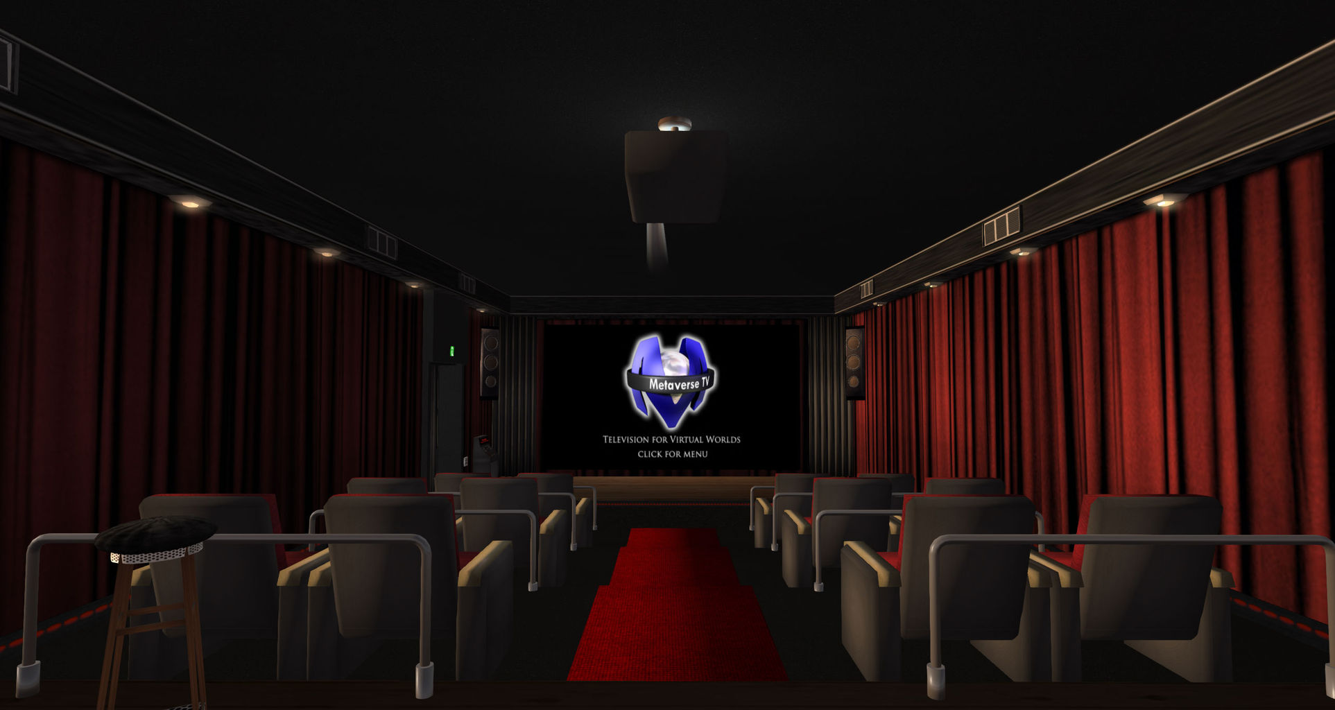 ade s movie theatre atoll second life mainland information