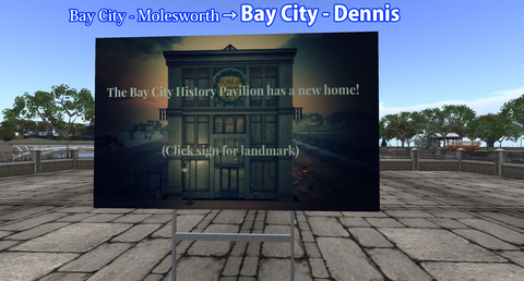 [Bay City History Pavilion has a new home!]