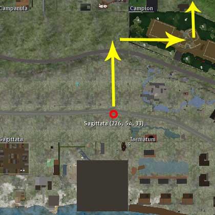 発信地点(ルート1)