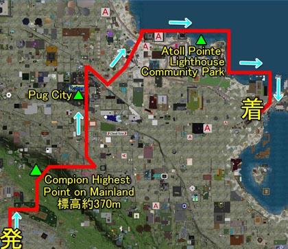 運行経路マップ