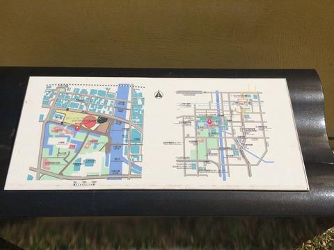 福岡県北九州市小倉北区リバーウォーク北九州 地図
