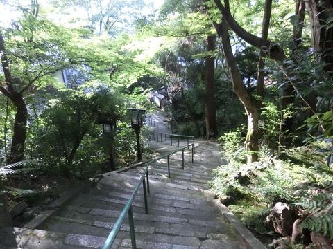長楽寺・階段