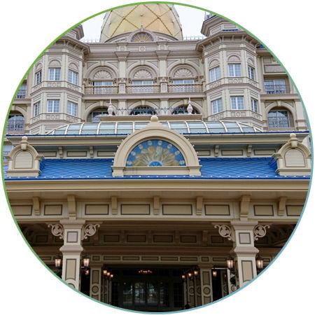 ディズニーホテル0 - 1