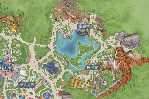 上海迪斯尼乐园假度区16090612 - 1