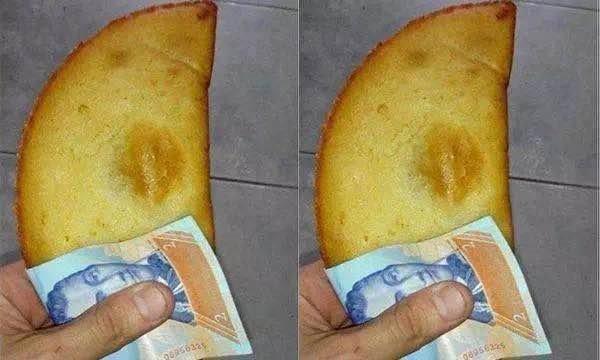 パンを食べるときにティッシュじゃなくて紙幣(お金)で包む国ベネズエラwwwwwwwwwww