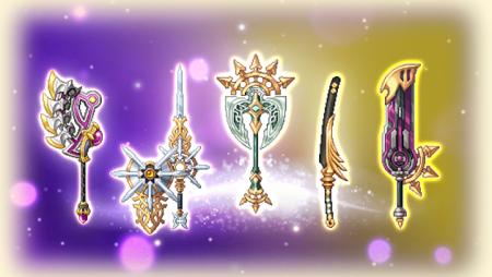 【剣と魔法のログレス】新武器「双極の宝刀シリーズ」がジョブガチャに登場!