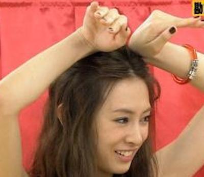 【画像】北川景子と川口春奈のワキがエ□すぎる!これはもう抜けるレベル!