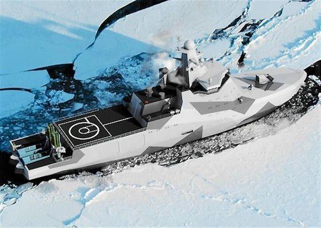 世界初の武装砕氷船 ロシア軍