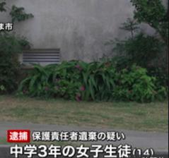 【悲報】この沖縄の女子中学生が赤ちゃんを出産し母親に言えず遺棄する事件wwwwwwwww