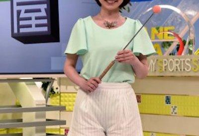 【画像】ミヤネ屋の天気予報姉ちゃんのホットパンツがエ□すぎたwwwwwwwwwwwwwww