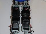 ノーマルのマノイATの膝の強度を高めるオプションパーツです。写真は交換前のマノイAT