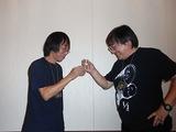 二人は同い年、日本酒大好きコンビなのである