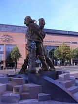 至る所に、彫塑があるのがとても素敵だ。