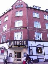 お世話になるウインザーホテル、とても古いホテル