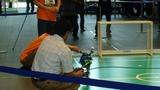 ダイナマイザーとKHR-1による世界初のロボットによる宣誓式
