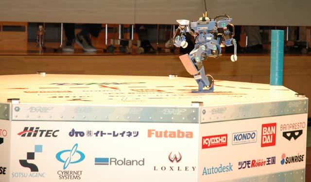 第8回ROBO-ONE飛騨高山(予選2位・決勝準優勝)