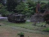 展示車両ではなく、白馬高地の草刈に来ていた部隊の車両