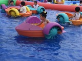 韓国は子供が多い。日本には無い楽しい遊具も沢山ある