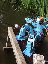 ROBOT Fishing rally 2006実験大会の様子2 何か大きなミスをしたリアクションのDYNAMIZER