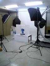 カフェデジタルのスタジオでReal3Diの撮影ちゅ2