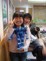 日本チームを訪れダイナマイザーを抱っこしてくれたKwangwoon Universityの可愛い子とイケメン君
