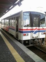 松浦鉄道のワンマンディーゼル列車