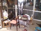 ミナおばあちゃん愛用の薪ストーブ、煙突直しを手伝った