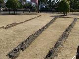 平和公園は被爆当時刑務所だったが壁の跡のみ残し全滅