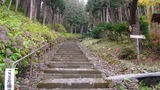 自分の人生後半の戦略を練りながら参道の石段を一歩ずつ登る