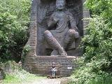 謎の古代文明を思わせる仏像・・しかしなんと昭和40年の作品(爆)