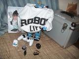 記念品はROBOTLIFE誌とROBOTLIFE Tシャツ