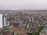 ROBOPARK15階からのビンチョン市内の眺め