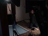 家の中にさっさとスタジオを作ってしまう内田カメラマンは仕事人