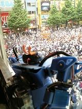 偶然神田祭の神輿宮入に、父さんは神田明神で仲人をしたことある。