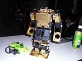 私もゴールドのTINYWAVEで参加、パイロットは韓国で有名なROBOT王子