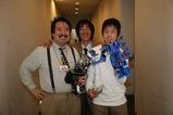 JINさんと記念写真、同い年のいい男です。