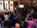 午後の会は観客が多かったです。