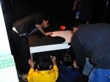 電通大ロボメカの展示はびっくり机だった
