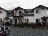 宿泊した貸し別荘は金堂渓谷沿いにあった