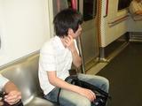 地下鉄に乗るマナブ、山手線クラスくらいの重要路線である