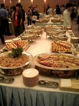 懇親会の料理は豪華だった。