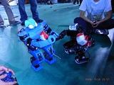 JeonのROBOTのボディブローが決まった「グワウム」。