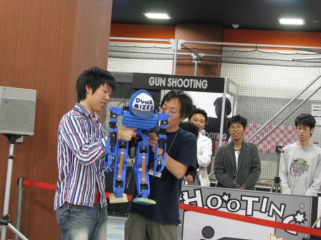 ROBO-ONE GATE筑波NAMCOでGIGA DYNAMIZERデビュー