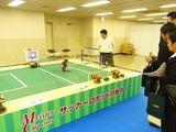 何故就職セミナーにロボットサッカー?と最初は戸惑う参加者