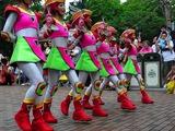 ダンサーも笑顔で可愛い。開園頃の東京ディズニーの雰囲気