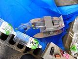 これは水上浮遊ゴミ回収ロボットだ